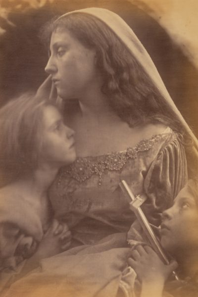 Holy Family, Julia Margaret Cameron, Albumen silver print, 1872, The J. Paul Getty Museum, Los Angeles.